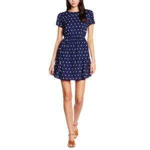 Modcloth Compania Fantastica Star Print Dress L